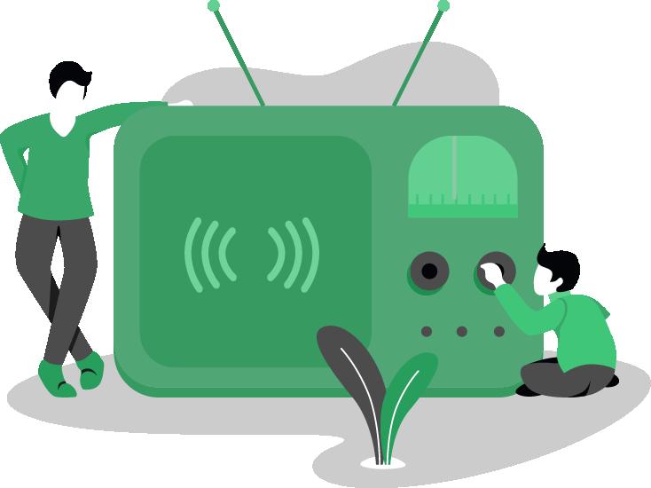 امکانات رادیو آنلاین و اینترنتی
