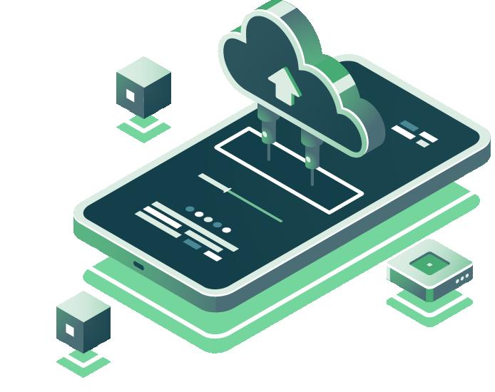 سرور مجازی و راهکار اپلیکیشن موبایل