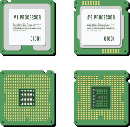 انواع flags برای پردازنده های سرور مجازی